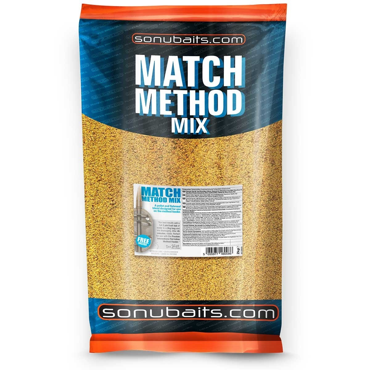 Sonubait Match Method Mix Groundbait 2kg