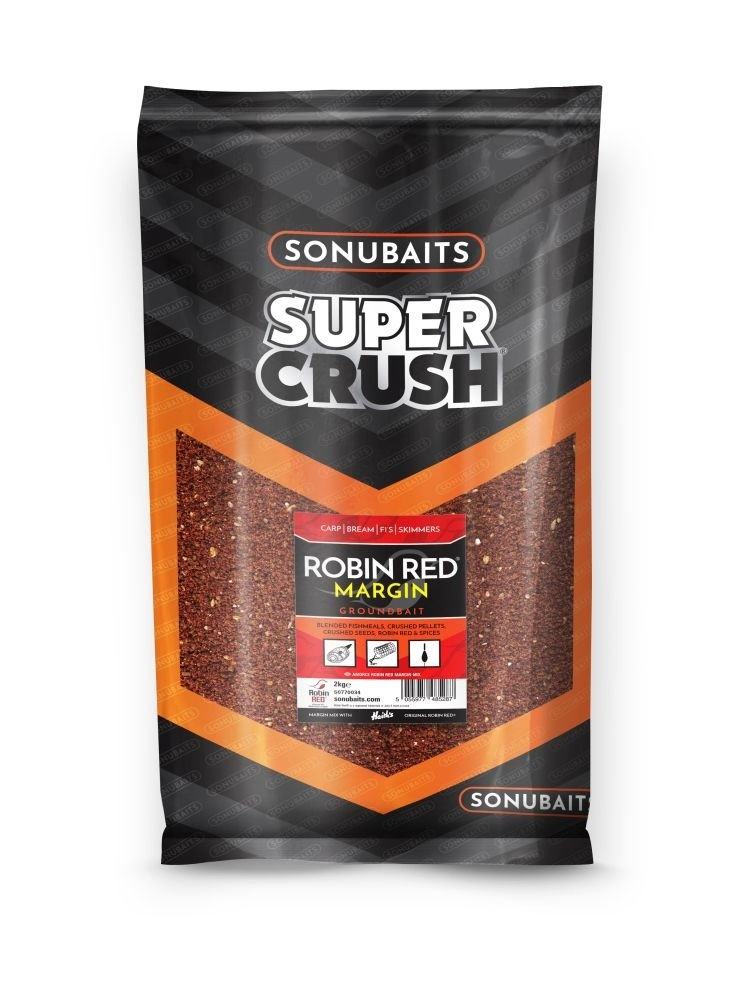 Sonubait Super Crush Robin Red Margin Groundbait 2kg