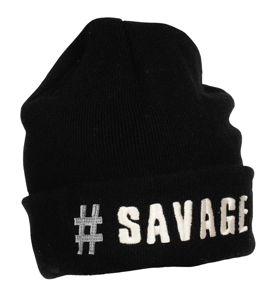 Savage Gear Black Beanie