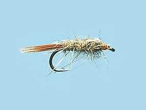 Turrall Slim-Line Nymph Hares Ear Size 12