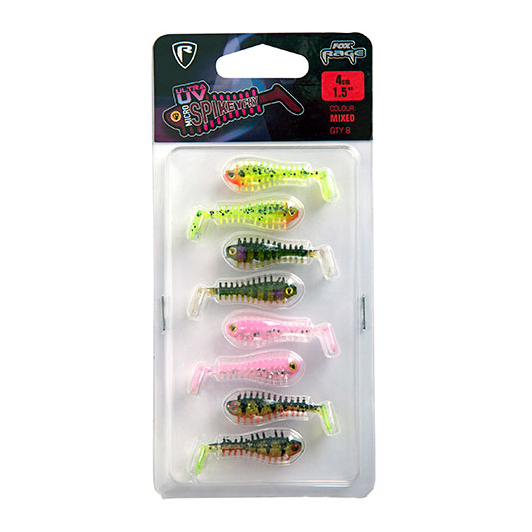 Fox Rage Ultra UV Micro Spikey Fry Mixed 4cm