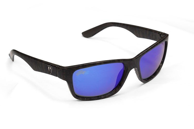 Fox Rage Camo Edition Grey-Mirror Blue Sunglasses