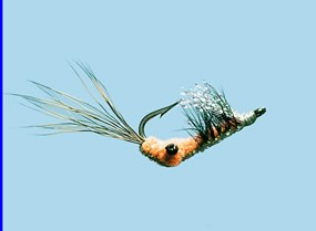 Turrall Scates Shrimp Pink Saltwater Fly