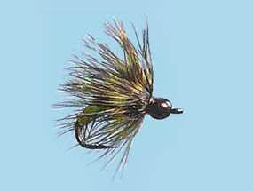 Turrall Tungsten Nymph Soft Hackle Caddis