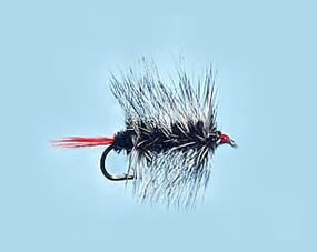 Turrall Woolly Worm Black - Size 10