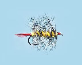 Turrall Woolly Worm Yellow - Size 10