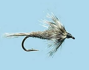 Turrall Weighted Nymph Grey - Size 10