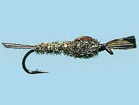 Turrall Weighted Nymph March Brown - Size 10