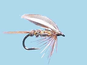 Turrall Wet Winged Gold Rib Hares Ear