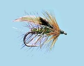 Turrall Wet Winged Green Peter - Size 10