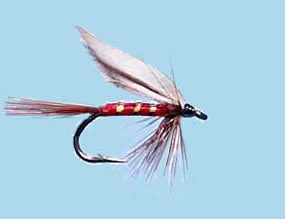 Turrall Wet Winged Red Spinner