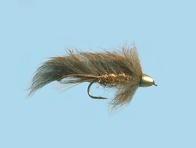 Turrall Zonker Conehead Minky Brown - Size 8