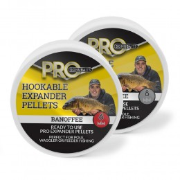 Sonubait Pro Hookable Expander Pellets Banoffee 6mm