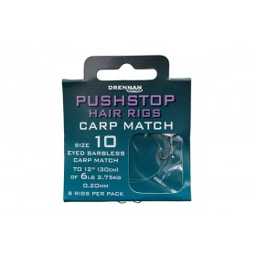 Drennan Pushstop Hair rigs Carp Match hooks to nylon
