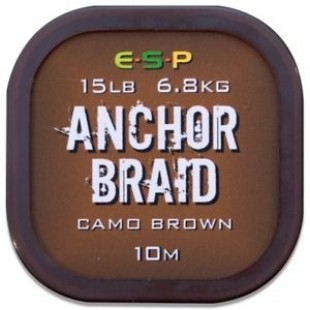 ESP Anchor Braid Camo Brown 10m 20lb