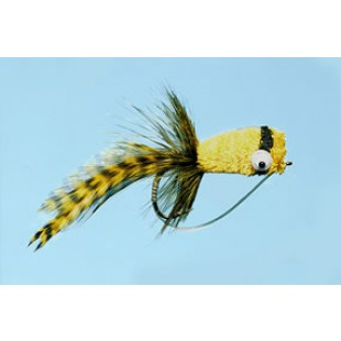 Turrall Hair Bug Yellow Bass Bug