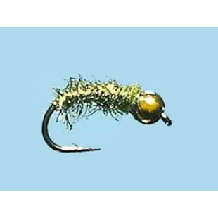 Turrall Bead Head Caddis Worm Flash