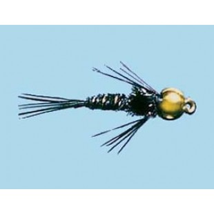 Turrall Bead Head Pheasant Tail Black