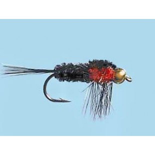 Turrall Bead Head Montana Orange - Size 12