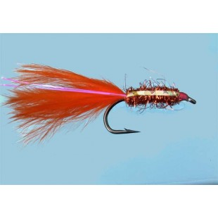 Turrall Brite Lite Mini Lure Orange Size 10