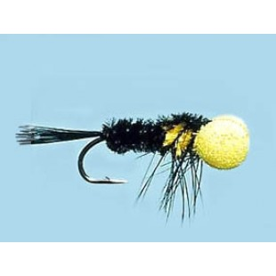Turrall Booby Nymph Black - Size 10