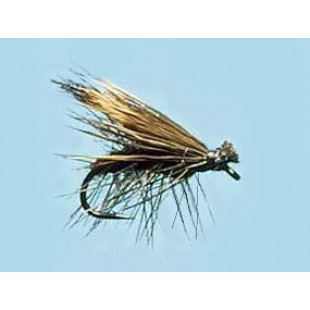 Turrall Caddis (Sedge) Elk Hair Black