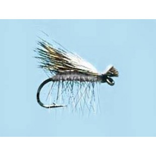 Turrall Caddis (Sedge) Elk Hair Hi-Vis Grey