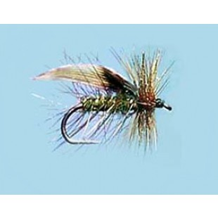 Turrall Caddis Sedge Green Peter