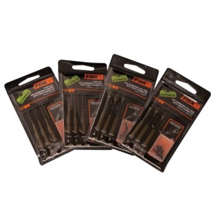 Fox Lead clip 30lb submerge leaders with kwik change kit