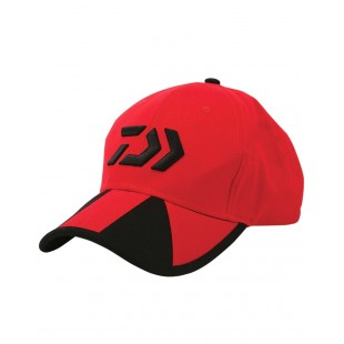 Daiwa Cap Red / Black Twin Beam