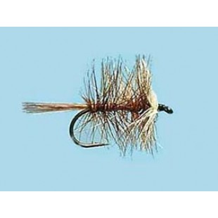 Turrall Dry Hackled Bi-Visible Brown