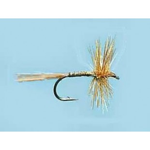 Turrall Dry Hackled Ginger Quill - Size 14