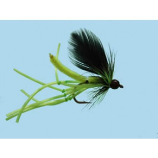 Turrall Daddy Long Legs Rubber Legs Chartreuse Size 10
