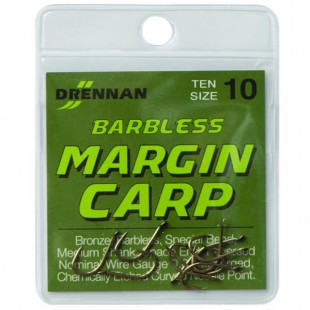 drennan margin barbless carp hooks