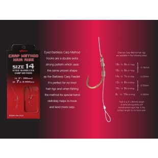Drennan Carp Method Hair Rigs