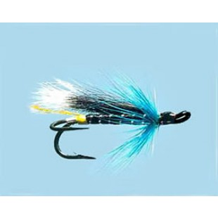 Turrall Double Salmon Blue Charm