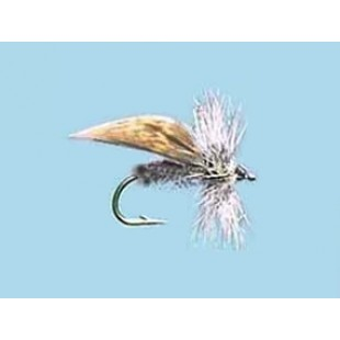Turrall Dry Winged Grey Flag - Size 14