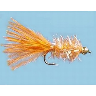 Turrall Fritz Gold Head Orange Size 10