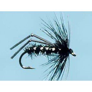 Turrall Flexi-Hopper Black - Size 12