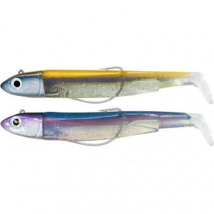 Fiiish Black Minnow Double Combo Off Shore 120 no.3 25g Orange/Blue & Rainbow