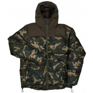 Fox Chunk Rip Stop Quilted Jacket Camo Khaki