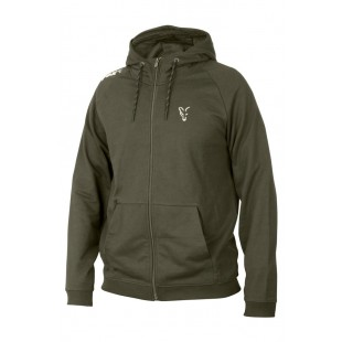 Fox Collection Lightweight Hoody Green/Silver Large
