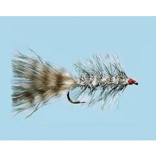 Turrall Grizzly Bugger Silver Size 8