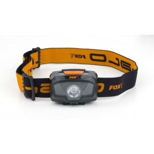 The new Fox Halo 200 Headtorch comers supplied with batteries and is an handy torch for all types of fishing