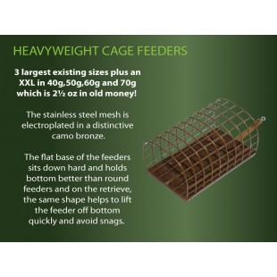 Drennan Stainless Heavyweight Cage Feeder