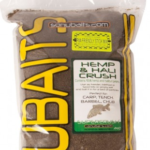 Sonubait Supercrush Hemp and Hali 2kg