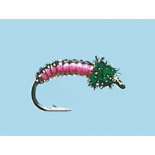 Turrall Juicy Grub Black/Pink - Size 12