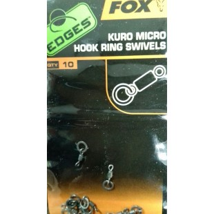 Fox Kuro Micro Hook Ring Swivels