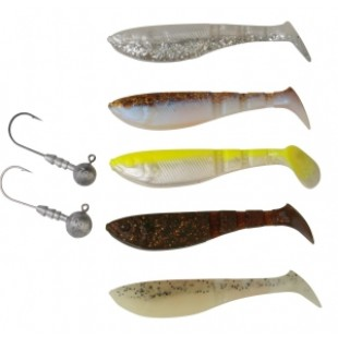 Savage Gear Pro 4Play Shad Soft Lure Shad Kit