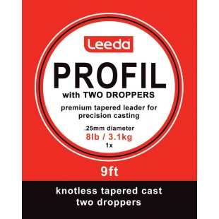 Leeda Profil with Two Droppers 9ft